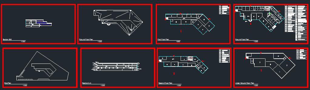 نقشه طراحی دانشکده