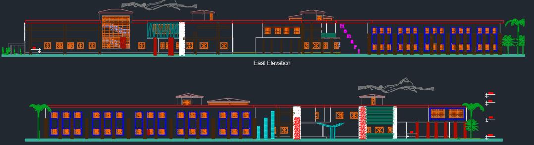 نقشه دانشکده معماری