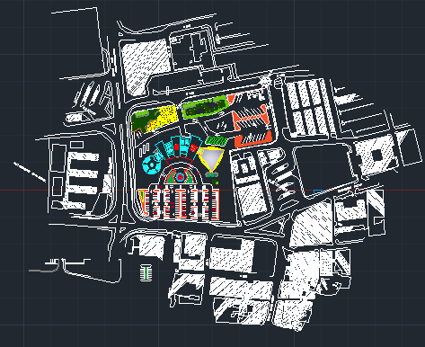دانلود پروژه کامل پایانه مسافربری به همراه بررسی فضاها