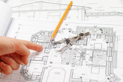 دانلود پروژه طراحی فنی - مجموعه پلان های معماری و سازه ای