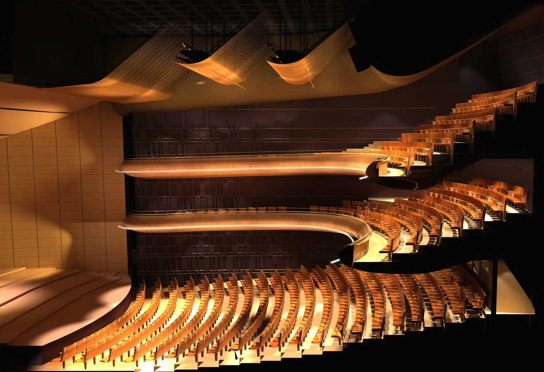 پروژه طراحی تئاتر
