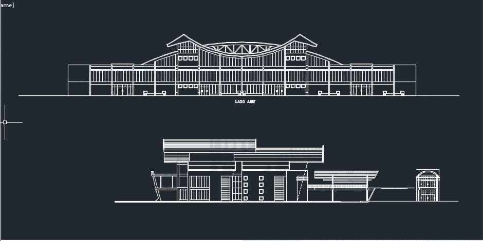 طراحی فرودگاه محلی