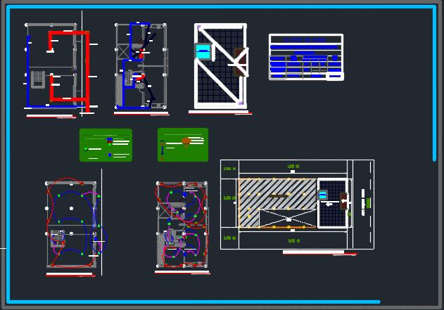 طراحی آپارتمان مسکونی دو طبقه