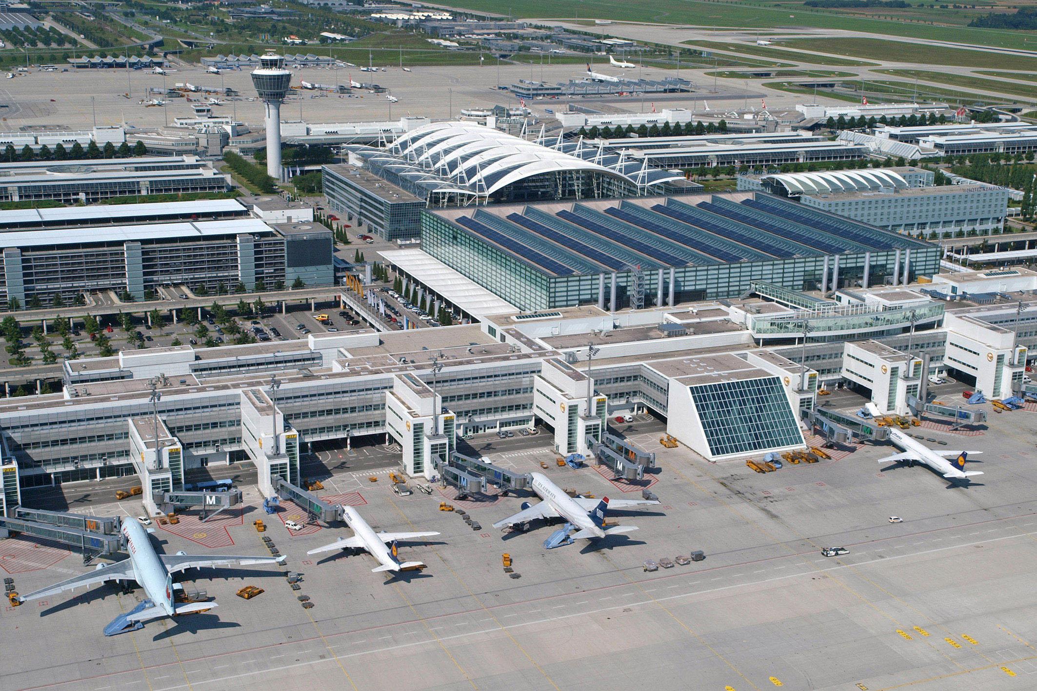 طراحی انبار پشتیبانی فرودگاه