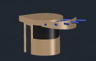 طراحی سه بعدی کیوسک حراست
