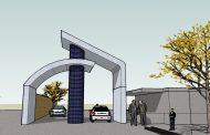 دانلود طراحی سردر ورودی محوطه