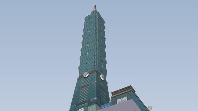 فایل اسکچاپ برج تجاری
