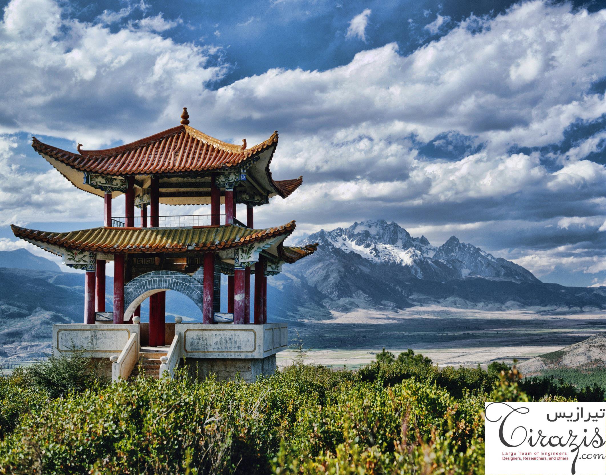 دانلود پروژه پاورپوینت معماری چین