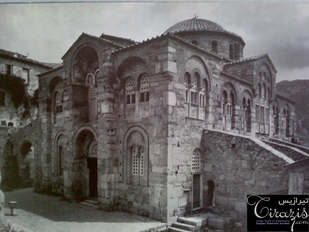 دانلود پروژه پاورپوینت معماری بیزانس و مسیحیت