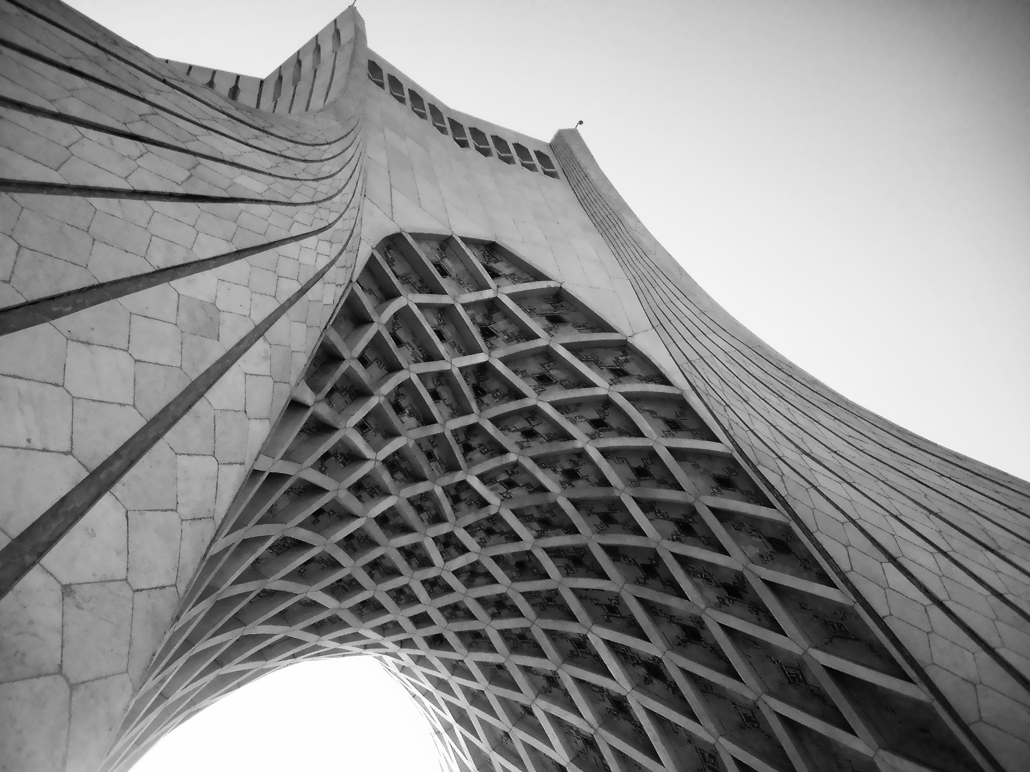 دانلود پروژه رایگان اتوکد برج آزادی